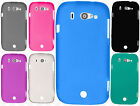 Us Cellular ZTE Imperial 2 TPU CANDY Flexi Gel Skin Case Cover +Screen Protector