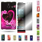 For Huawei Ascend W1 H883G Various Cases Hard Plastic Design Cover