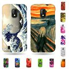 For ZTE Majesty Z796c Hard Rubber Slim Snap On Phone Cover Design Accessory Case