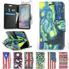 For Samsung Galaxy S6 Case - Flip Folio Wallet Pouch Cover + Screen Protector