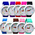 Unisex Silicone Quartz Sports Style Watch Women Jelly Wrist Watch