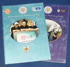 LEICESTER CITY HOME PROGRAMMES 2000-2001