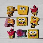 9-100PCS Spongebob PVC Shoe Charms/Shoe Buckle Fit JIBZ & Bracelets Kids Gifts