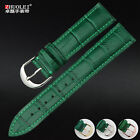 For Longine- Omeg- women's leather watch band for Longine- Omeg- green