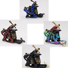 Aluminium Alloy 10 Wrap Coils Tattoo Machine Gun For Liner Shader with 4 Styles