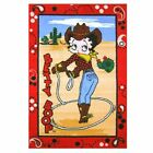 Betty Boop Western Area Rug  - Three Sizes Available $37.6 CAD