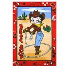 Betty Boop Western Area Rug  - Three Sizes Available $38.47 CAD