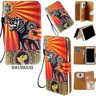 Flip Wallet Card Stand PU Leather Magnetic Case Cover For Various Huawei Phones