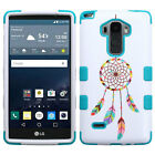 For LG G Stylo IMPACT TUFF HYBRID Protector Case Skin Phone Cover + Screen Guard