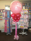 Giant Balloon Decoration Column Display Kit - WEDDING + LOVE