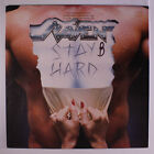 RAVEN: Stay Hard LP (promo stamp oc) Metal