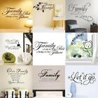 Mural English Proverbs Quote Wall Vinly Sticker Decal Art Home Room DIY Decor
