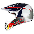 KINI 2014 Motocross Helm Red Bull Composite Light 14 weiss-blau Motocross