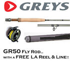 GREYS GR50 Fly Fishing Rod with FREE Loaded Fly Reel & Floating Line (RRP £189+)