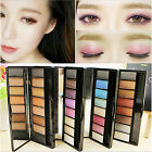 Sale 4Styles 8Colors Smoky Eyeshadow Makeup Palette Powder Compact Colorful