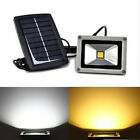 Solar Powered LED Flood Light Garden Spotlight Waterproof Outdoor Lamp 10W New