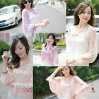 Summer New Shawl Lady Women Elegance Chic UV protection Dot Soft Fashion Cape
