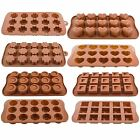 SILICONE CHOCOLATE CANDY MOLD MOULD TRAY ICING SUGAR CRAFT CAKE JELLY BAKING ICE