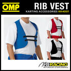 KK04001 OMP KART RIB PROTECTION VEST HIGH VIBRATION SHOCK ABSORBING FOR KARTING