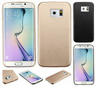 For Samsung Galaxy S6 Hard Leather Back Protector Slim Case Cover Accessory