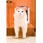 STANDARD CAT DOOR Kitty Tabby Safe Flap Doors for Cats To Get In To Closed Rooms