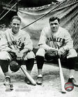 New York Yankees Ruth & Gehrig MLB Licensed Fine Art Prints (Select Photo/Size)