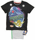 Older Boys Star Wars Angry Birds Short T-Shirt Pyjamas Set 5-6 Y up to 13-14 Y