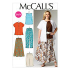 McCall's 6970  Paper Sewing Pattern to MAKE Top Jacket Skirt Trs Shorts Plus Sz