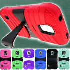 For Samsung Galaxy S5 Active Dual Layer Hard Soft Hybrid Armor Phone Cover Case