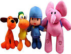 Kids Cartoon Pocoyo Elly Elephant Pato Duck Loula Dog Plush Stuffed Toys Dolls