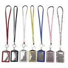 Vogue Women Crystal Lanyard ID Badge Employee Card Mobile Phone Case Holder - CB