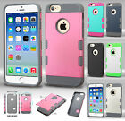 For Apple iPhone 6 4.7 Tuff Trooper HYBRID TPU Case Protector Cover Accessory