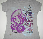 """Ever After High shirt girls sizes Small 6/6X """"You only live once upon a time"""""""