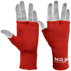 MRX Boxing Inner Gloves Fist Bandages MMA Muay Thai Hand Wraps Kick, Red