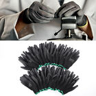 Внешний вид - 12 Pairs Black Nylon PU Safety Work Gloves Builders Grip Palm Coating Gloves