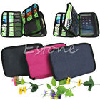Travel Large Double Layers organizer Bag Can Carry Cable put HDD USB Flash Drive