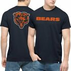 Men's '47 Brand Navy Chicago Bears Crosstown MVP Flanker T-Shirt