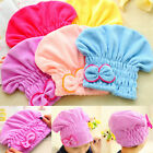 Dry Hair Hat Microfiber Hair Turban Quickly Dry Wrapped Towel Bathing Cap Useful