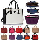 Ladies Faux Leather Bag Women's Fashion Designer Quality Tote Handbags Large Bag