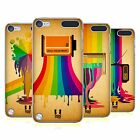 HEAD CASE DESIGNS COLOUR DRIPS HARD BACK CASE FOR APPLE iPOD TOUCH 6G 6TH GEN