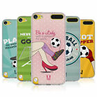 HEAD CASE FOOTBALL STATEMENTS SOFT GEL CASE FOR APPLE iPOD TOUCH 6G 6TH GEN
