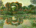The Flowering Arches, Giverny by Claude Monet Canvas Art Print Painting Repro