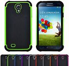 Shock Proof Hybrid Hard Armour Builder Case Cover For Samsung Galaxy S4 i9500