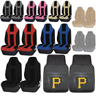 MLB Pittsburgh Pirates Rubber Floor Mat High Back Seat Cover Universal Combo on Ebay