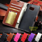 For Samsung Galaxy S6 S6 Edge New Card Wallet Flip PU Leather Phone Case Cover