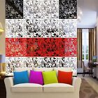 4pcs Butterfly Flower DIY Hanging Screen Room Division Panels Wall Curtain Decor