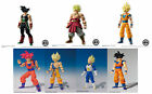 Dragon Ball Z Shodo Action figure 3.1in Selection Bandai Vegeta Son Goku God Neo
