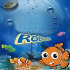 Robo FIsh Robotic ClownFish Water Activated Battery Powered Pet KidsToys Gifts