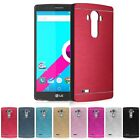 Luxury Brushed Metal Aluminium Hard PC Shockproof Fitted Case Cover For LG G4