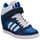 Womens adidas Originals Amberlight Up Hi Top Trainers In Blue From Get The Label